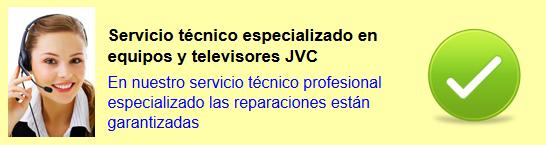Servicio técnico jvc Madrid